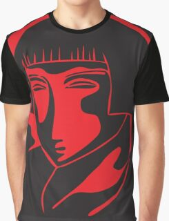 woman face 1928, black and red Graphic T-Shirt