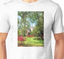 Spring - Suburban House With Azaleas Unisex T-Shirt