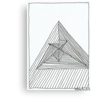 Lines 6 Canvas Print