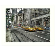 5th Avenue New York Art Print