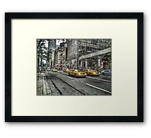 5th Avenue New York Framed Print