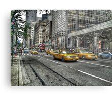 5th Avenue New York Metal Print