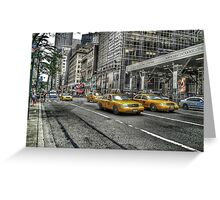 5th Avenue New York Greeting Card