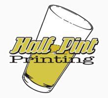 Half Pint Printing Tee Shirt by HalfPintPrint