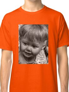 creepy doll Classic T-Shirt