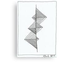 Lines 10 Canvas Print