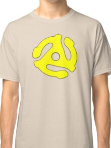 Record adapter yellow Classic T-Shirt