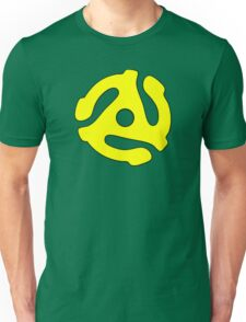 Record adapter yellow Unisex T-Shirt