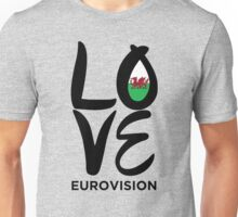 LOVE Eurovision [Wales] Unisex T-Shirt