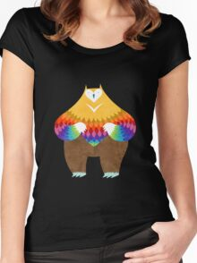 OwlBear Women's Fitted Scoop T-Shirt