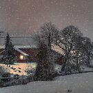 Snow on the Farm by Charles & Patricia   Harkins ~ Picture Oregon