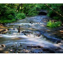 Wolf Creek - Letchworth State Park Photographic Print
