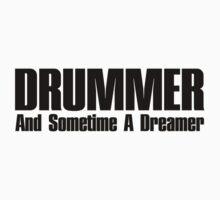 Drummer dreamer  (black)  One Piece - Short Sleeve