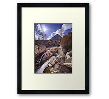 Buachaille Etive Mor from the River Coupall Framed Print