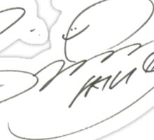 Girls' Generation Signatures - Sunny Sticker