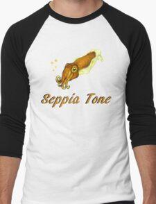Seppia Tone Men's Baseball ¾ T-Shirt