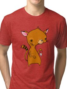 Cat and Mouse Tri-blend T-Shirt