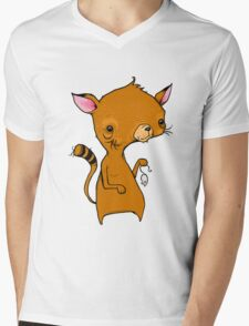 Cat and Mouse Mens V-Neck T-Shirt
