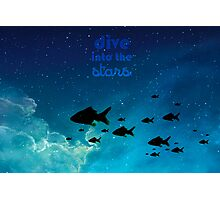 DIVE INTO THE STARS Photographic Print