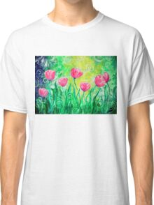 Dancing Tulips by Jan Marvin Classic T-Shirt