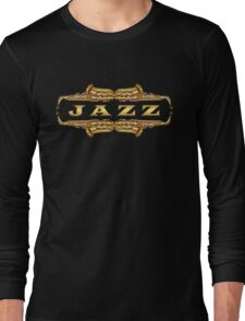 Gold jazz Long Sleeve T-Shirt