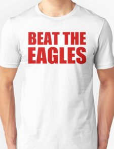 New York Giants - BEAT THE EAGLES - Red Text T-Shirt