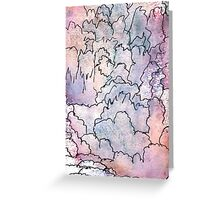 Fantasy Landscape - Abstract Greeting Card