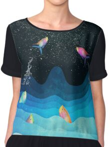 Come to reach the stars Chiffon Top