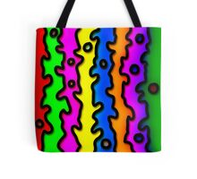 Jagged Rainbow Tote Bag