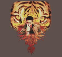 Jensen's eye of the tiger Baby Tee