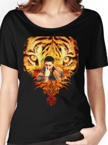Jensen's eye of the tiger Women's Relaxed Fit T-Shirt