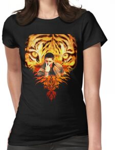 Jensen's eye of the tiger Womens Fitted T-Shirt