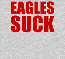 New York Giants - EAGLES SUCK - Red Text Unisex T-Shirt