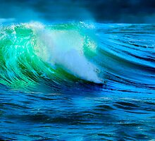 The Green Wave by Angelika  Vogel