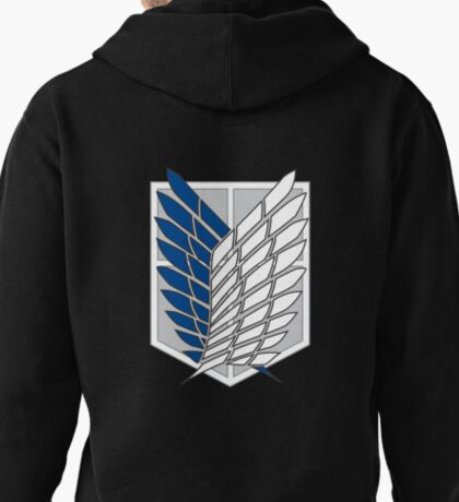 AoT Survey Corps Pullover Hoodie
