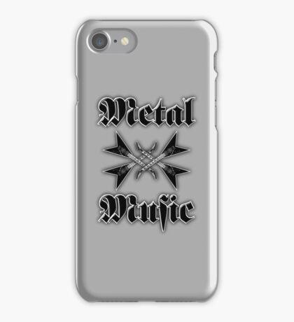 Metal music iPhone Case/Skin