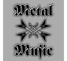 Metal music Photographic Print