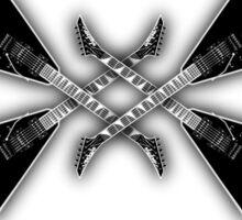 Metal music Sticker