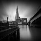 The Shard and London Bridge by DaveTurner