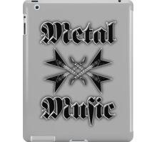 Metal music iPad Case/Skin