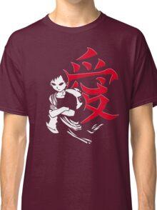 Gaara in Red Love Classic T-Shirt