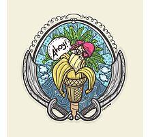 Banana Pirate! 3 Photographic Print