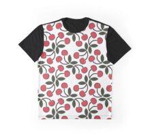 Retro Cherries Graphic T-Shirt