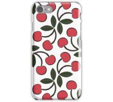 Retro Cherries iPhone Case/Skin
