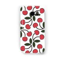 Retro Cherries Samsung Galaxy Case/Skin