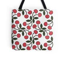 Retro Cherries Tote Bag