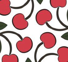 Retro Cherries Sticker