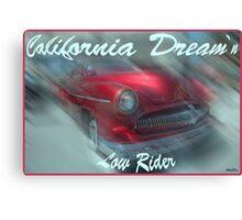 Northern Cali Crimson Classic Canvas Print