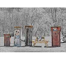 Hillbilly Yard Sale Photographic Print