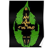 Firefly - Leaf in the Wind Poster